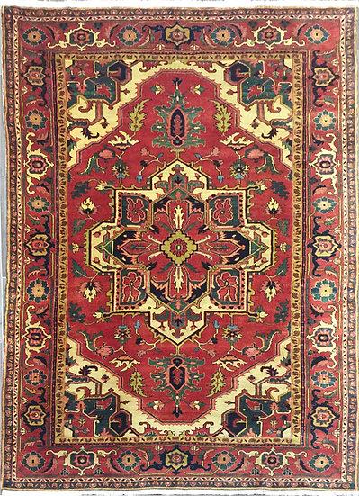 8292 Persian Heriz 6.9x9.5