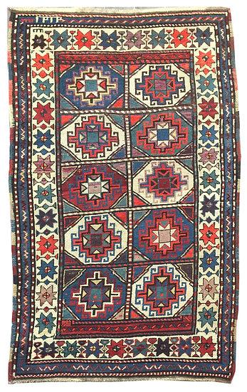A215 Caucasian Kazak 3.9x7.9