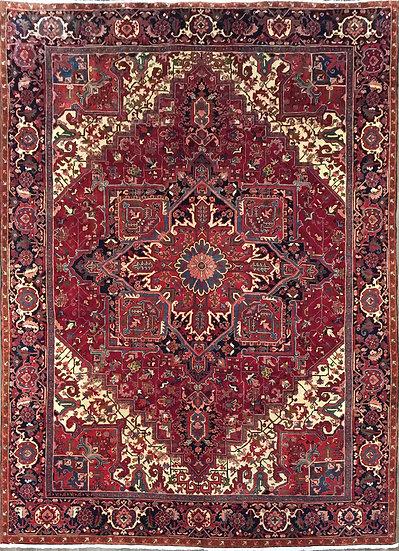 10A0206 Persian Heriz 9.9x13