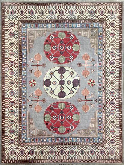 9A0386 Afghan Khotan 9.1x11.9