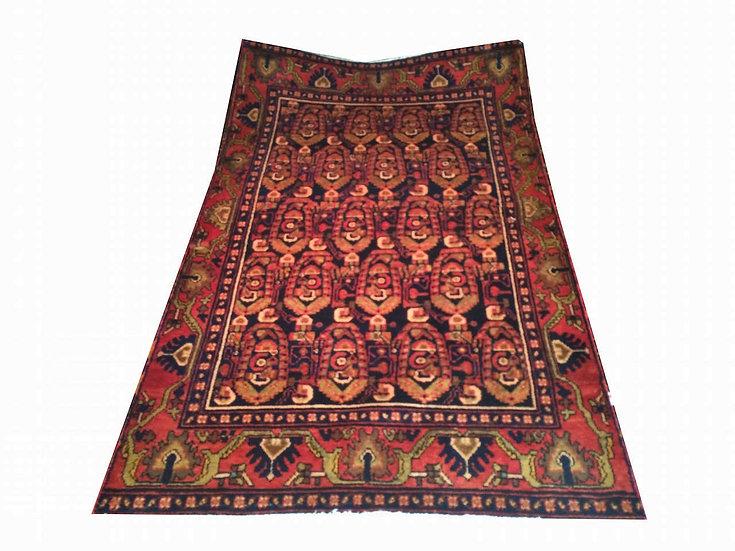 A4 Persian Senneh 4.1 x 6.6