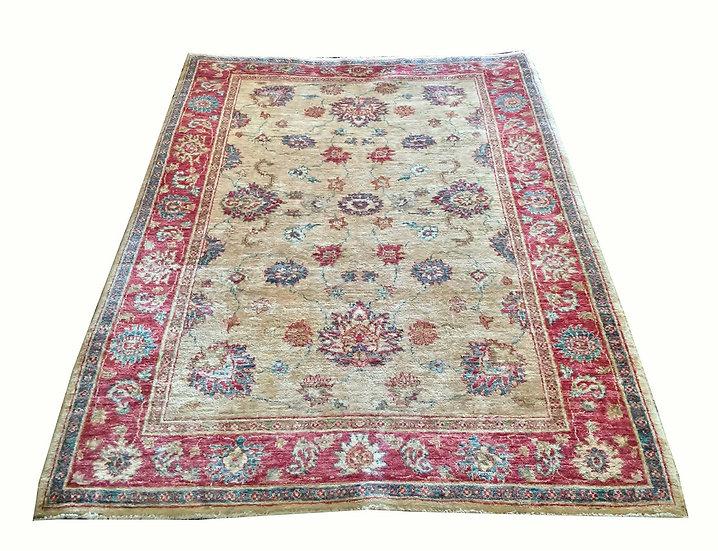 5A0032 Afghan Oushak 4.7x6.3