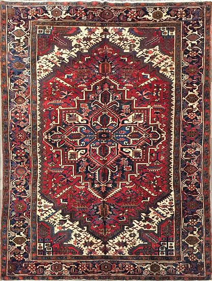 8A306 Persian Heriz 6.8x10