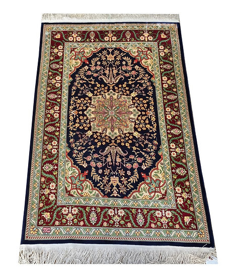 3138 Turkish Hereke %100 Silk 2.4x3.7