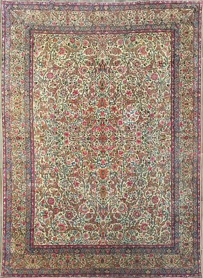 9A0288 Persian Kerman 8.6x11.5
