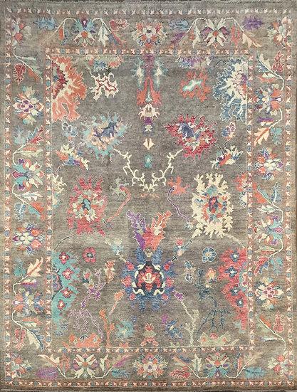 10A0209 Afghan Oushak 9.9x13.9