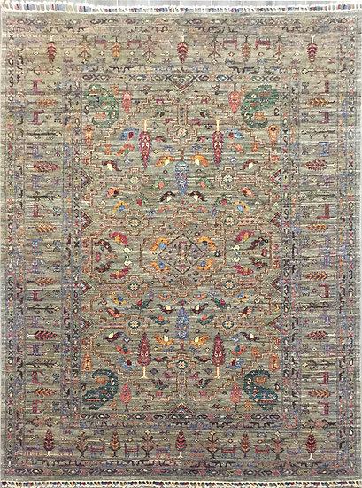 6160 Afghan Gabbeh 5.10x7.11