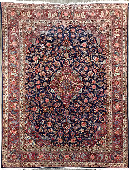 9A0457 Persian Kashan 8.8x12.4