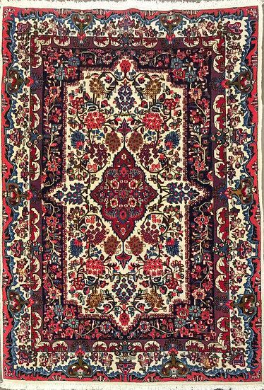 4A0162 Persian Qum 3.8x5.2