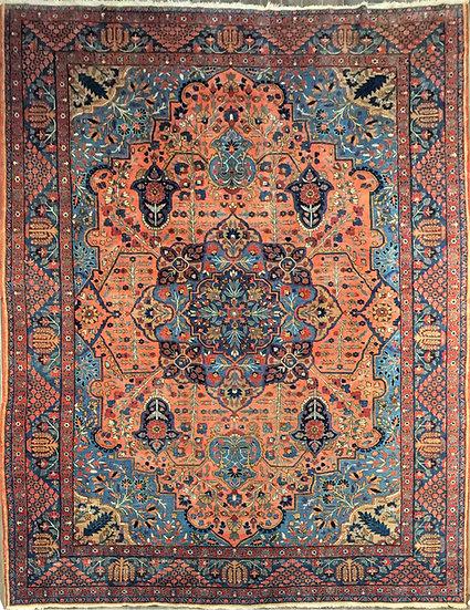 O39 Persian Khoy Tabriz 11.7x15.3