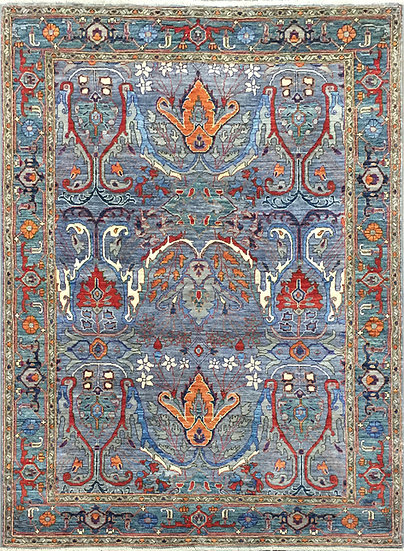 5A0227 Afghan Bijar 4.10x6.9