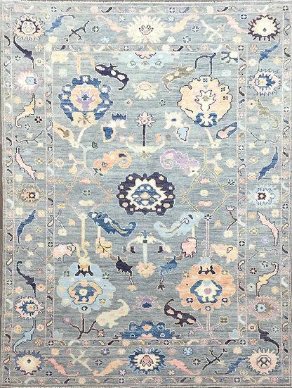 6A0228 Afghan Oushak 5.10x8.10