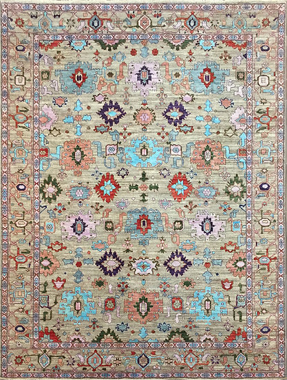 9274 Afghan Bijar 8.9x11.10