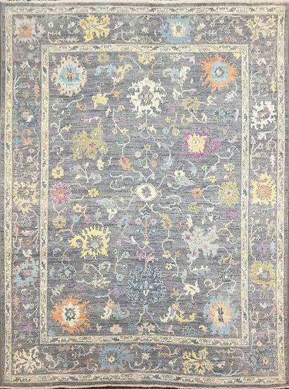 9296 Afghan Oushak 9.2x11.7