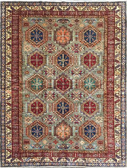 6A0182 Afghan Kazak 5.11x8.2