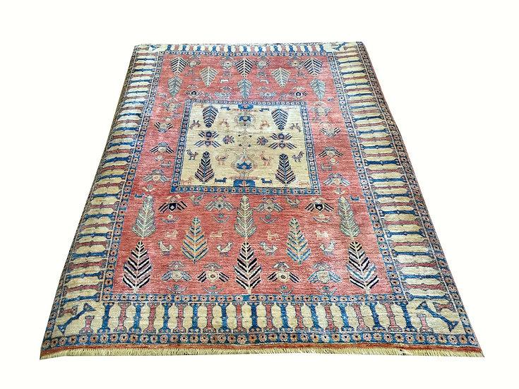 5A0031 Persian Gabbeh 5x7