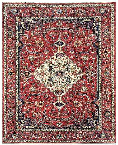 9187 Afghan Serapi 8.11x11.8
