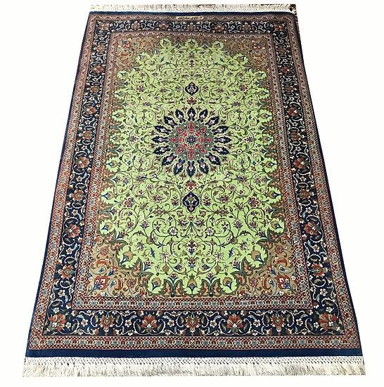 3A0040 Persian Qom %100 Silk