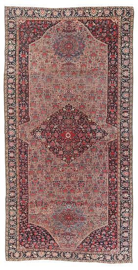 O46 Persian Sarouk Farahan 11.4x22.8