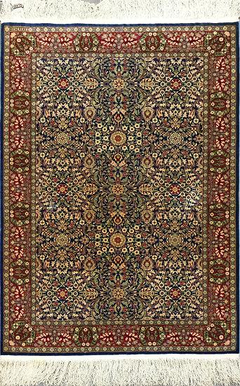 3A0287 Turkish Hereke %100 Silk 3.3x4.9
