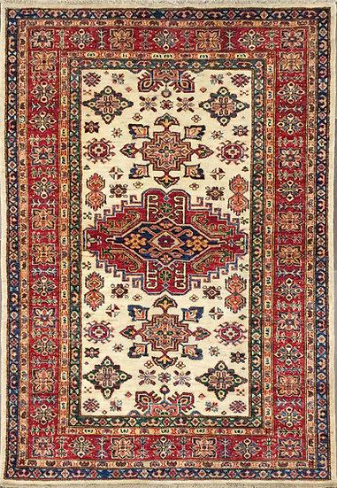 4A0148 Afghan Kazak 4.1x6.2