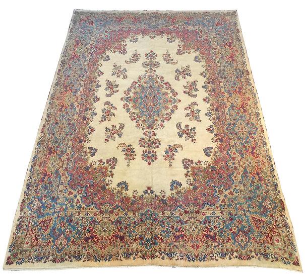 O23 Persian Kerman 11.9x16.9