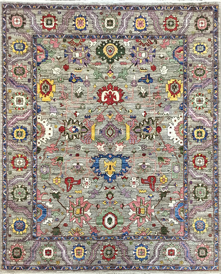 8322 Afghan Bakshaish 8.2x9.10