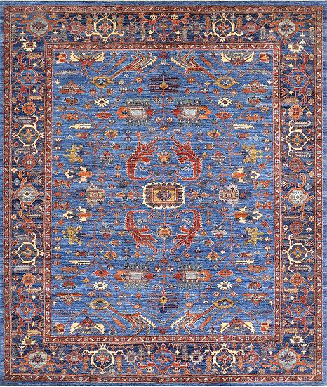 8A368 Afghan Serapi 8.1x9.6