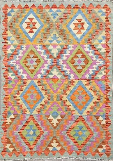 K167 Afghan Kilim 3.3x4.11