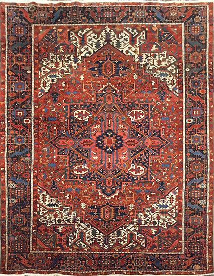 9A0197 Persian Karajeh Heriz 8.8x11.8