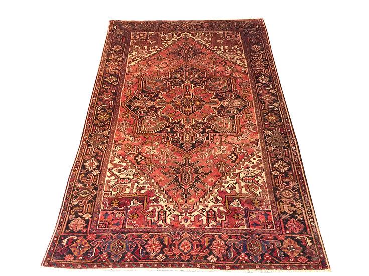 6A0005 Persian Heriz 5.7x8.11