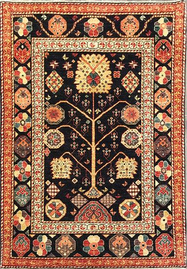 4A0102 Afghan Suzani 3.11x5.9