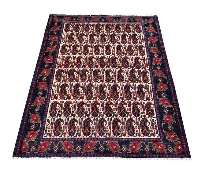 4053 Persian Senneh 4.1x5.4