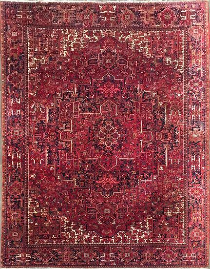 10A0313 Persian Heriz 10.9x14.6