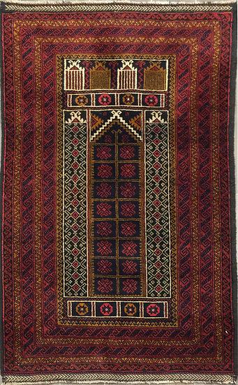 3A0190 Afghan Baluch 2.8x4.6