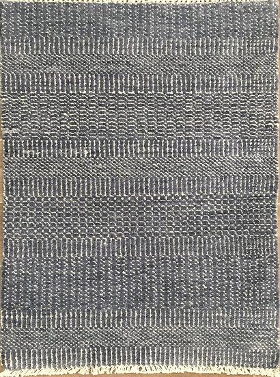 2A0224 Indian Grass Denim-Silver 2x3