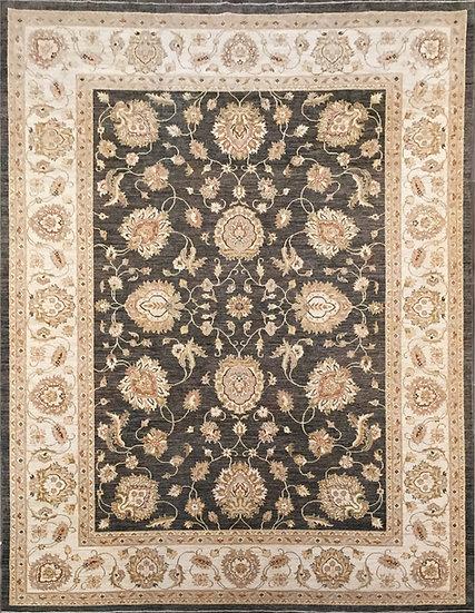 9A0027 Afghan Oushak 8.9x11.11