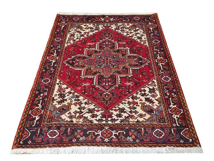 4259 Persian Heriz 4.10 x6.3