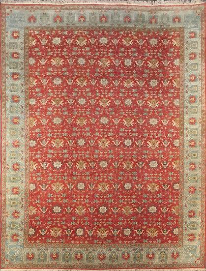 10A0198 Indian Oushak 9.11x14