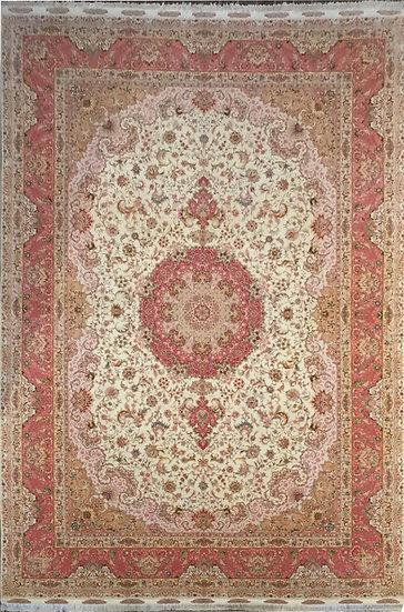 O36 Persian Tabriz 11.6x16.7