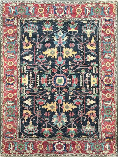 9311 Afghan Serapi 8.11x12