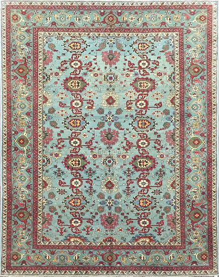 6A0197 Afghan Bijar 6.4x9.3
