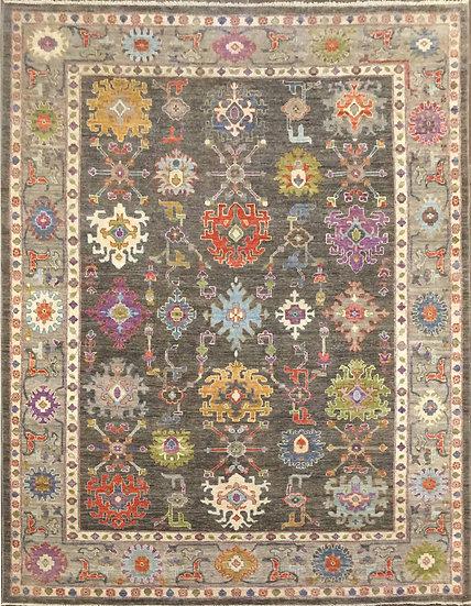 9253 Afghan Oushak 8.9x11.10