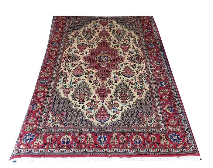 4A0005 Persian Qum 4.4x6.6