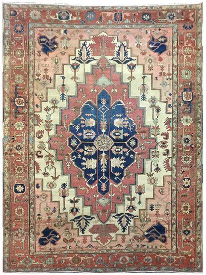 9A0381 Persian Serapi 8.8x11.11