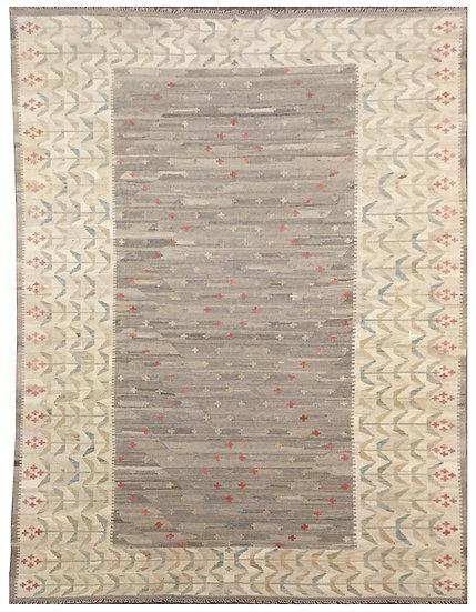 K146 Afghan Kilim 6.8x9.7