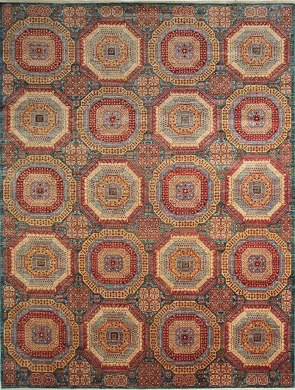 9144 Afghan Mamluk 8.11x12.1
