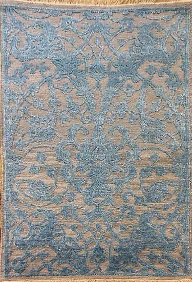 2A0110 Indian Modern Wool&Bambo Silk