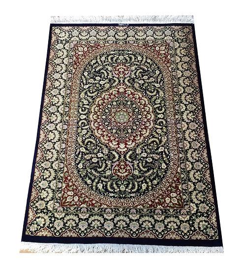 3141 Persian Qom %100 Silk 2.7x3.9