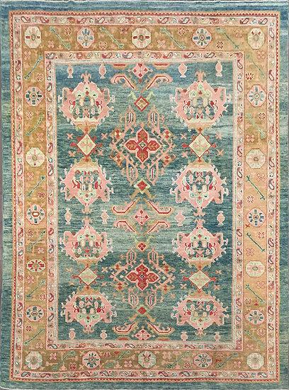 9A0336 Turkish Oushak 9.6x12.2